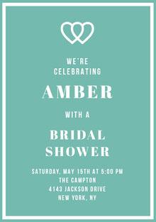 AMBER  Convite de casamento