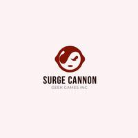 Surge Cannon  Twitch Logo