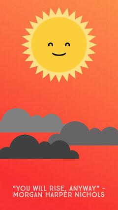 iPhone wallpaper sun Background