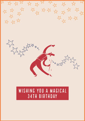 birthday card for man Bachelorette Party Invitation