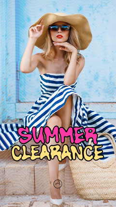 Female Summer Clearance IG Story Dress