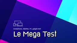 Neon Blocks The Big Test Technology Youtube Channel Art
