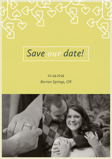 Save our date! Wedding Invitation