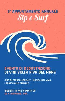 wine tasting event poster Poster