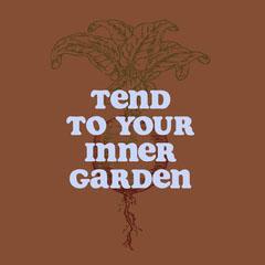 Beige Toned Inner Garden Catchphrase Instagram Post Garden