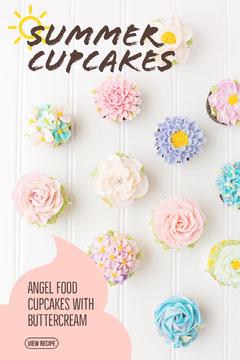 Pastel Colored Cupcake Recipe Pinterest Graphic Cupcake