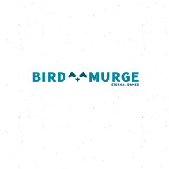 Blue Video Game Company Logo Bird