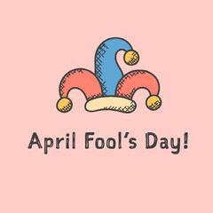 Pink April Fool's Instagram Graphic Jokes