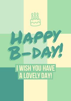 birthday card for neutral  Cakes