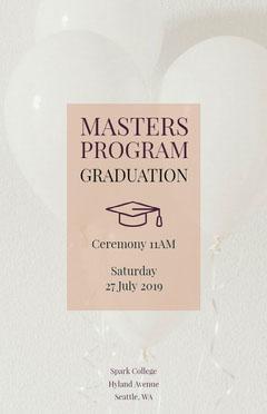 Masters Program Graduation