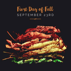 First Day of Fall  Autumn