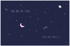 YOU ARE MAGIC Moon