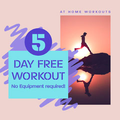 at home free workouts Instagram square  Fitness