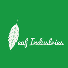 White and Green Company Logo Logo