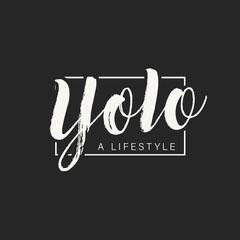 Yolo Typography