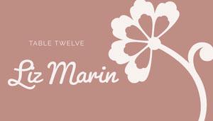 Liz Marin  Tischkarten