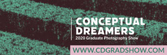 Green Tones Image Photography Graduation Show Web Banner Shows