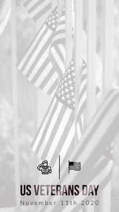 US Veterans Day Seasonal