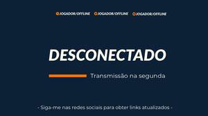 blue and orange offline twitch banner  Banner