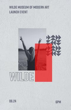 Wilde Museum of Modern Art Poster Launch