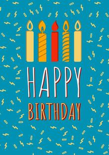 Happy Cartão de aniversário