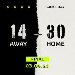 Game Day Score Instagram Square Sports