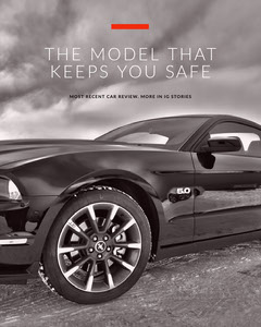 THE MODEL THAT KEEPS YOU SAFE Car
