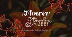 flower fair facebook event  Orange