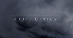 Dark Toned Clouds Photo Contest Ad Facebook Banner Contest