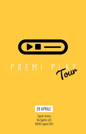 Tour Poster eventi