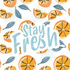stay fresh instagram  Orange
