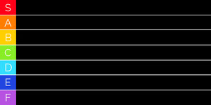 classic black tier list Tier-Liste