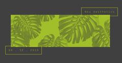 Minimalist Aesthetics Facebook Post Graphic with Palnts Designer