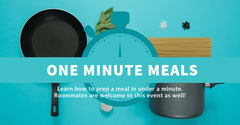 ONE MINUTE MEALS Back to School