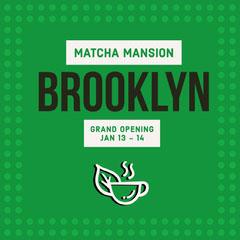 BROOKLYN Grand Opening Flyer