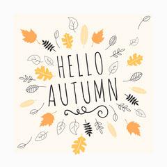 HELLO<BR>AUTUMN Autumn