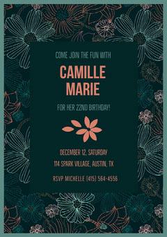 Camille Marie  Birthday