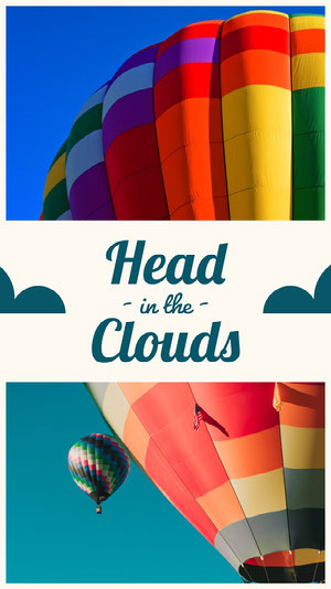 Colorful Hot Air Balloon Smart Phone Wallpaper Wallpaper