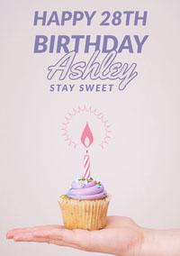 birthday card for woman  Birthday