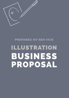 White and Grey Business Proposal Grey