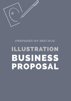 White and Grey Business Proposal Forslag