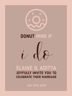 card Donut