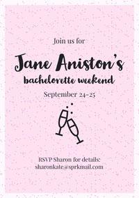 bachelorettepartyinvitation Wedding