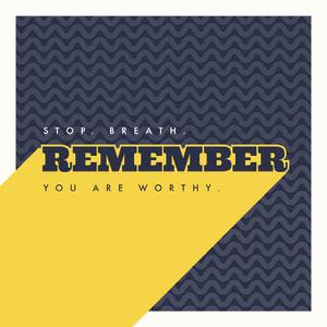 REMEMBER Poster motivazionale