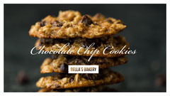 Bakery Cookie Recipe YouTube Thumbnail Bakery