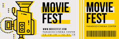 Movie Festival Ticket Event Ticket