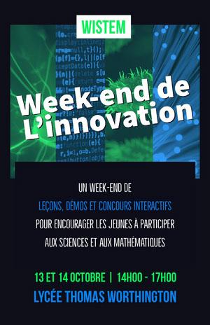 tech event poster Affiche événementielle