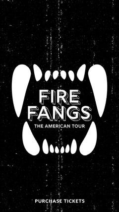 FIRE FANGS Band