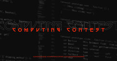 Red and Black School Computing Contest Facebook Post Graphic Contest