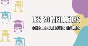 Multicolour Pattern - Top Tips for Graduates LinkedIn Blog Post Bannière LinkedIn